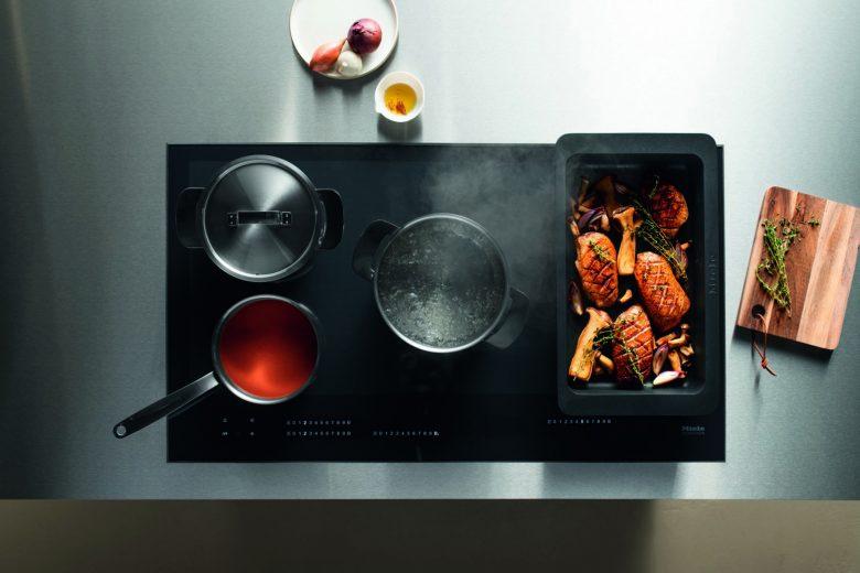 Grenzenlos flexibel: Induktions-Kochen auf voller Fläche