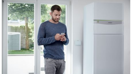 Smarte Hauswärmetechnik hilft ...