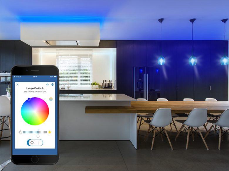 Jetzt wird's bunt: Die neue addZ-Serie von Rademacher bringt Farbe in jedes Zuhause