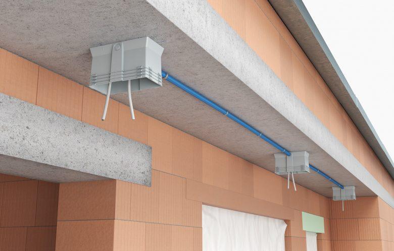 Energie und Kosten sparen durch eine luftdichte Elektroinstallation