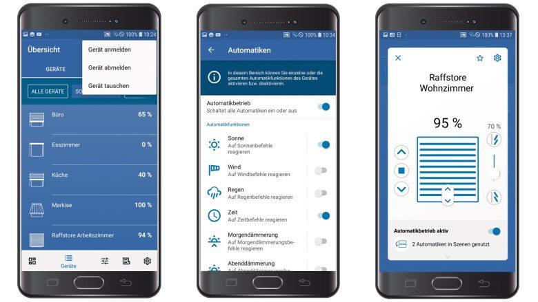 Vereinfachte Konfiguration und zahlreiche neue Funktionen: Rademacher bringt Update der HomePilot-App heraus