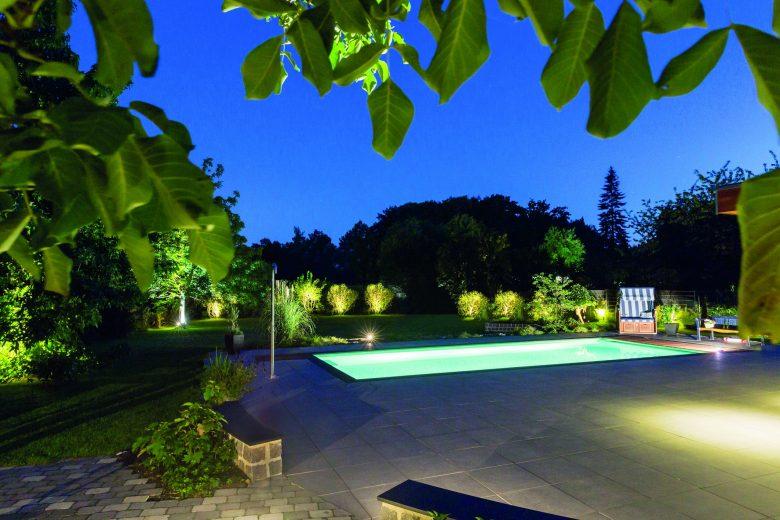 Smarte Beleuchtung für den Garten