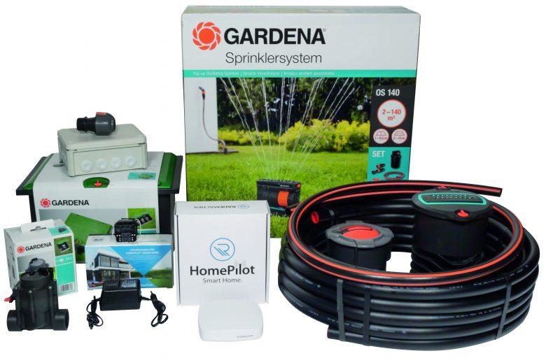 """Mit dem Paket """"Smarte Rasenbewässerung"""" wird der Garten zur grünen Wohlfühloase"""